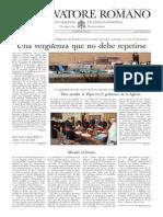 L´OSSERVATORE ROMANO - 04 Octubre 2013