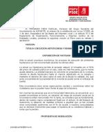 25-06-2012-Mocion ejecución hipotecaria y desahucio