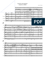 Concierto Para Guitarra y Orquesta y Timbal - Score and Parts