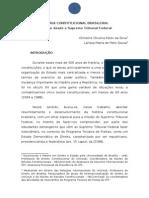 Historia Das Constituicoes Brasileiras Christine Peter e Larissa