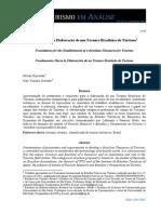 SUBSÍDIOS PARA ELABORAÇÃO DE UM TESAURO BRASILEIRO DE TURISMO