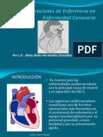 Consideraciones de Enfermería en Enfermedad Coronaria