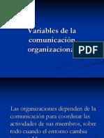 Variables de la comunicación organizacional.ppt