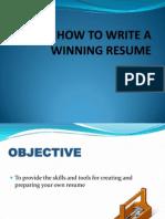 Resume Writing Thapar University.pptx