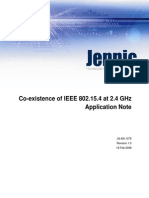 JN-An-1079 Coexistence of IEEE 802.15.4 in the 2.4GHz Band-1v0