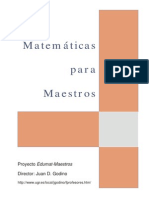 Manual Godino Matem. Para Maestros