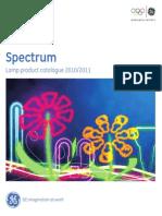 GE Spectrum katalóg 2013 ledky pre spolocnost IMAC.sk