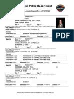 public arrest report for- 1082013