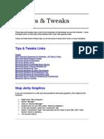 WINDOWS XP Tips & Tweaks