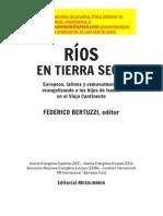 Federico A. Bertuzzi-Ríos En Tierra Seca-
