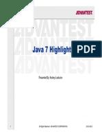 Java7 Highlights