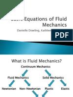 Basic Equations of Fluid Mechanics