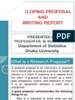 Writing a Research Report (1)