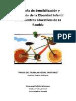Campaña de Sensibilización y Prevención de la Obesidad Infantil en los Centros Educativos de La Rambla