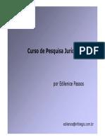 Curso Pesquisa Juridica