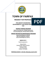 RFP for Fairfax - Highway Bridge Program
