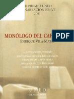 32837032 Enrique Vila Matas y Otros Monologo Del Cafe Sport y Otros