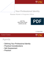 Developing Your Professional Identity (Rossier MPO)