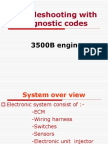 Troubleshooting With Diagnostic Codes 3500B Engines