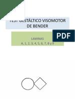 TEST GESTÁLTICO VISOMOTOR DE BENDER