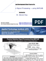 Practical Signal Processing Using Matlab