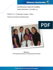 Informe Misionero a Octubre 2013 - Cartagena, Bolivar - Distrito 19