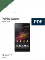 Whitepaper en c6603 Xperia z