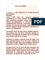 Huaca San Pedro Ubicacion y Manifestaciones Culturales
