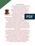 Reseña Histórica cultura DIAGUITAS