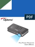 Optoma Pk320 Manual