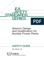 NS-G-1.6 Seismic Design and Qualification