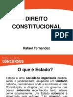 Direito Constitucional - Rafael Fernandez