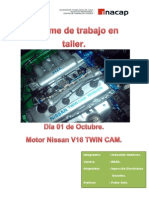 Actividad de la clase fue echar a andar el motor Nissan v16 twin cam.pdf
