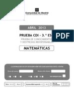 CDI 3ESO 2013