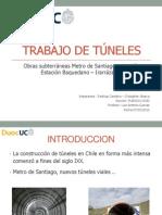 Trabajo de túneles