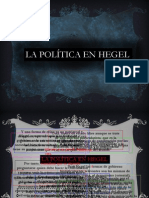 Hegel Politicon Ppt