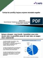 Türkiye'de yenilikçi ilaçlara erişimin önündeki engeller