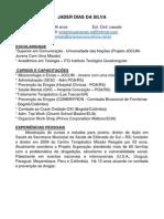 Curriculum Jader Dias Da Silva