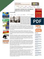 SiteBarra » Justiça suspende contrato de consultoria de engenharia em obras de escolas estaduais