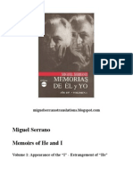 Miguel Serrano - Memoirs of He and I - Volume One - Introduction