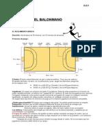 Reglamento-balonmano