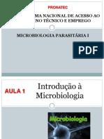 PRONATEC - Microbiologia - Aula 1