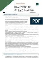 Guia Fundamentos de Gestión Empresarial