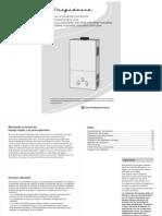 Manual Calentador de Agua a Gas