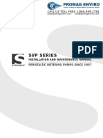 Stenner SVP Series Peristaltic Metering Pump Manual (Without QuickPro Addendum)