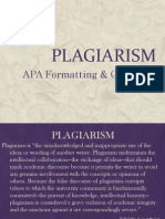 APA Style & Quotations