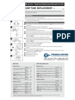 Stenner SVP Series Peristaltic Metering Pump Manual QuickPro Addendum