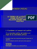 Primera Unidad Derecho Politico