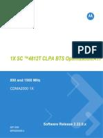 1X SC4812T CLPA BTS Optimization Manual