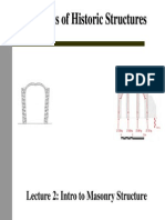 Introduction to Analysis of Masonry Arches